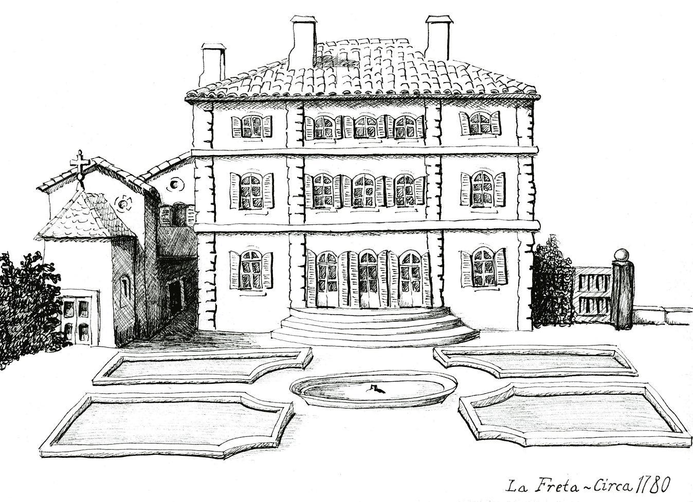 Plans de la maison dessinee maison moderne - Dessin maison de campagne ...